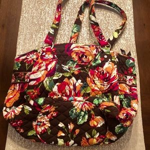 Vera Bradley Morgan bag in English Rose